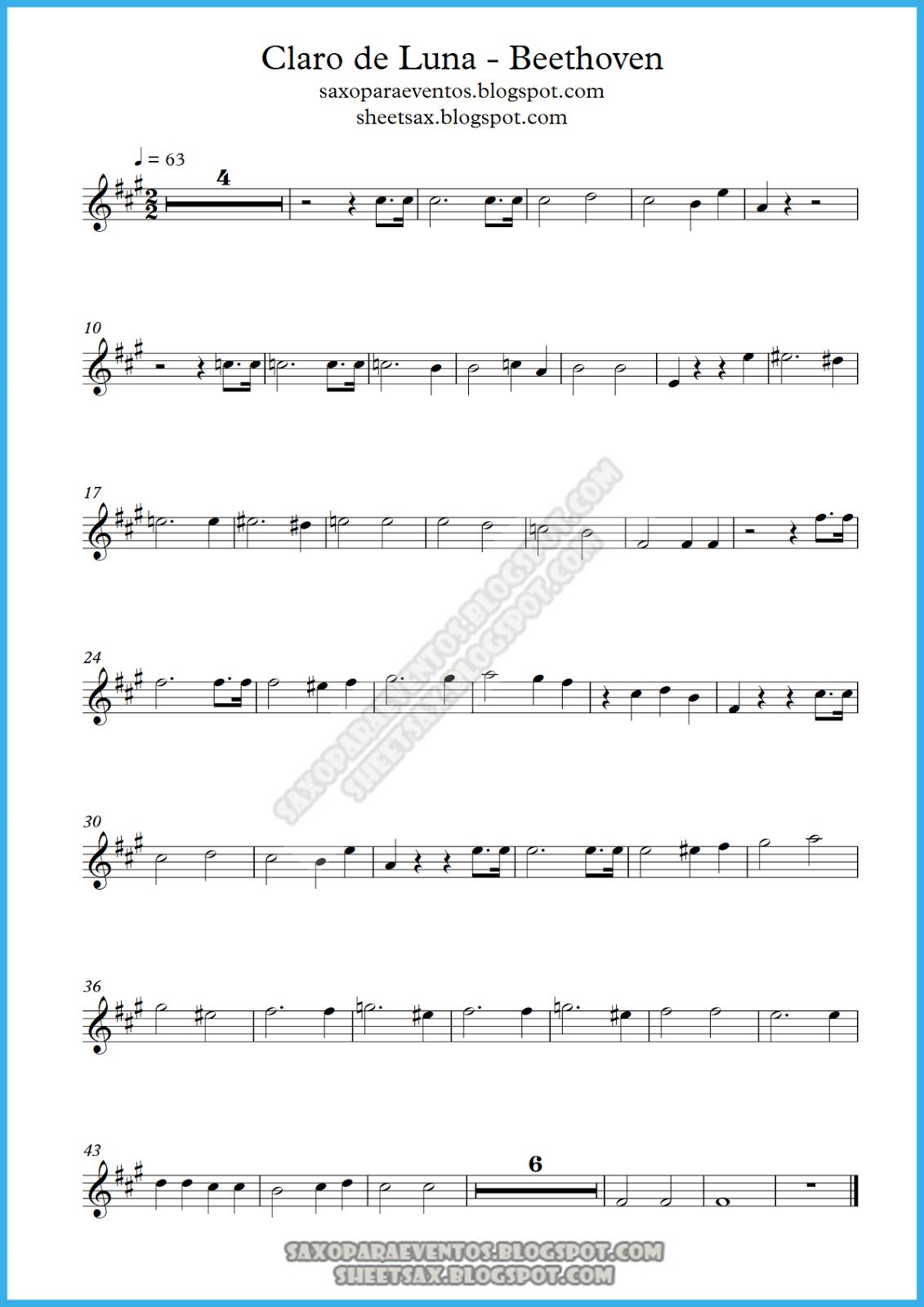 Moonlight sonata chords