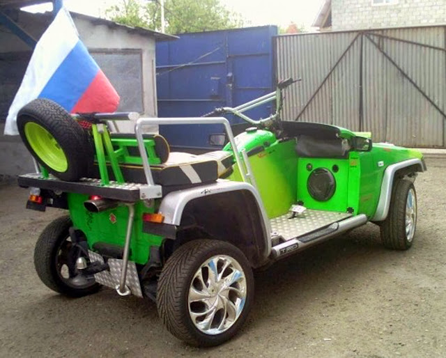Квадроцикл Волкодав V-1000 4WD