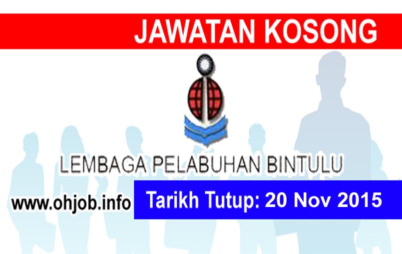 Jawatan Kerja Kosong Lembaga Pelabuhan Bintulu (BPA) logo www.ohjob.info november 2015