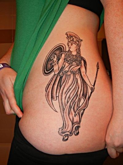 Athena Tattoo