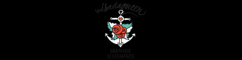 le blog d'isadaqueen graphiste illustratrice à Toulouse