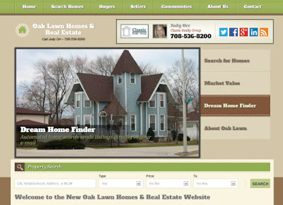 Oak Lawn Homes & Real Estate website