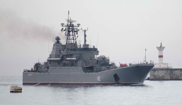 Russian Destroyer Enters East Mediterranean To Head Task Force – Report