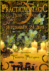 Yipeee!!!  another Practical magic blog party!!