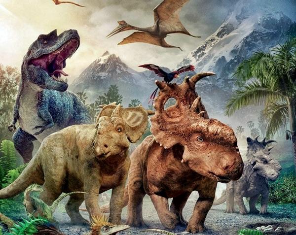 Dinosaurios en la Tierra