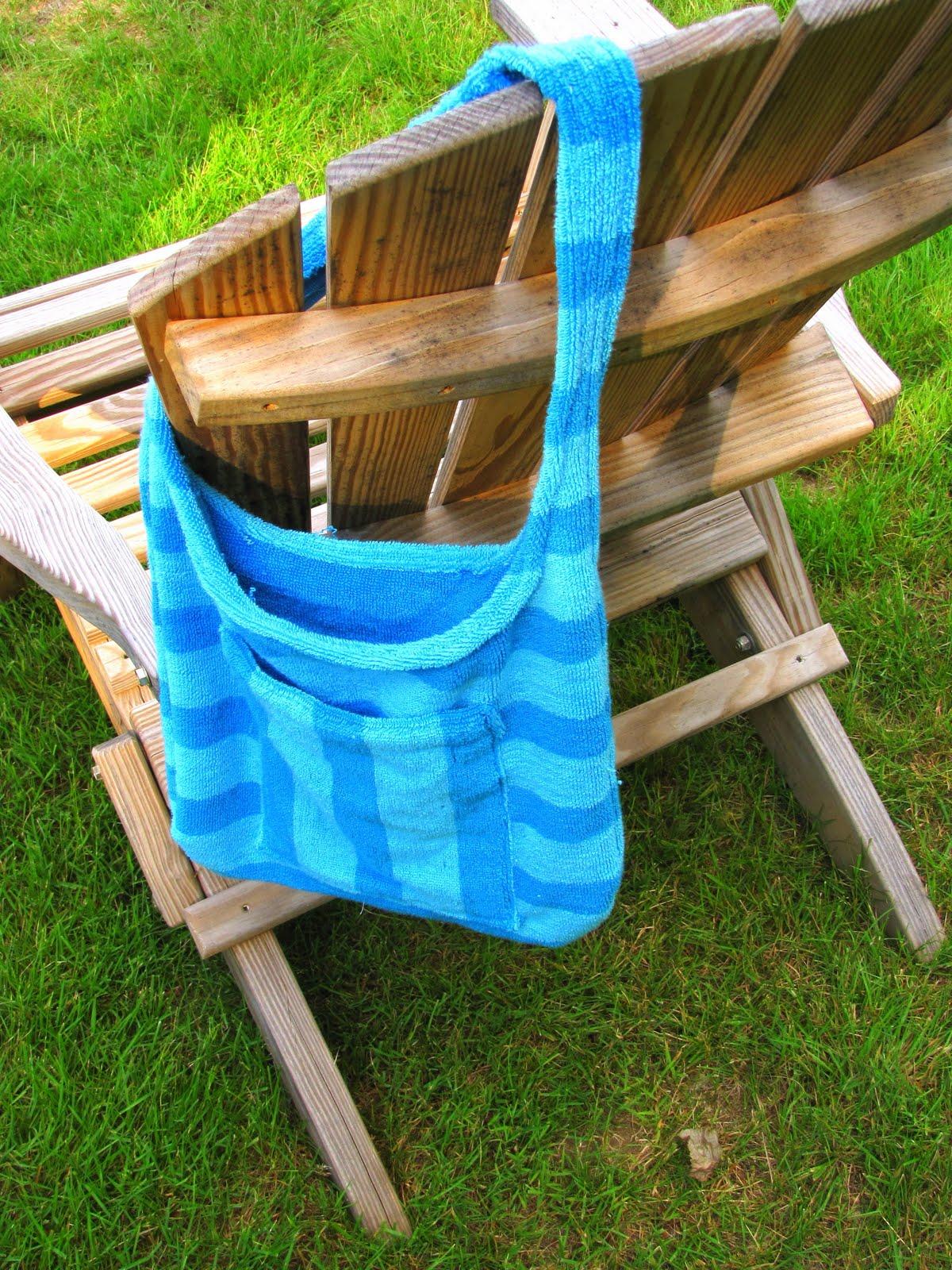 Как из полотенца сделать сумку