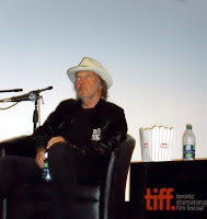 Neil Young mit Popcorn