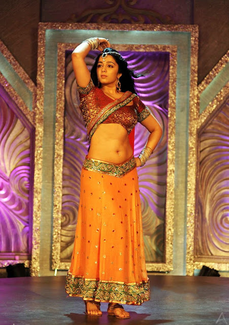 Actress Charmi Navel Show Photos From Damarukam