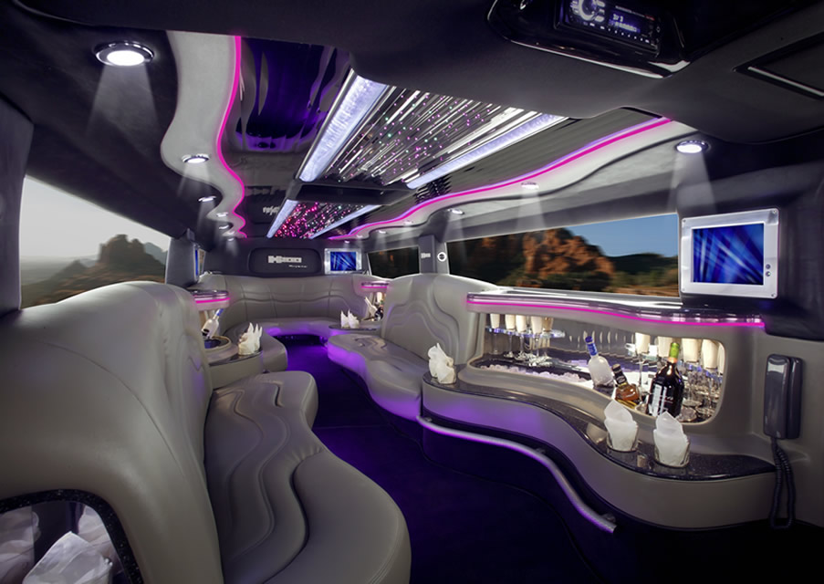 Sports Cars Ferrari Limousine Interior