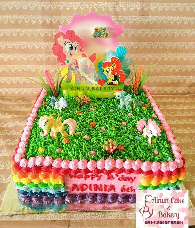 Ainun Cake N Bakery Kue Ulang Tahun Black Forest Birthday Cake