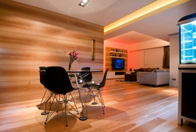 Gallart grupo el blog suelos y puertas de madera en - Revestir pared con madera ...