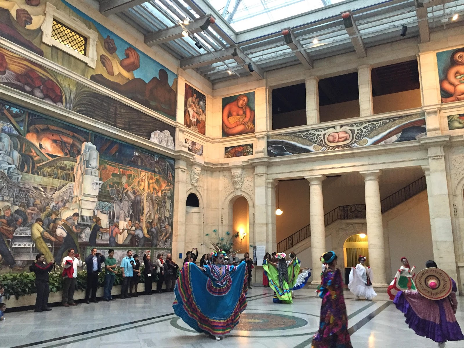 Entertaining views from cincinnati 30 americans at for Diego rivera mural chicago