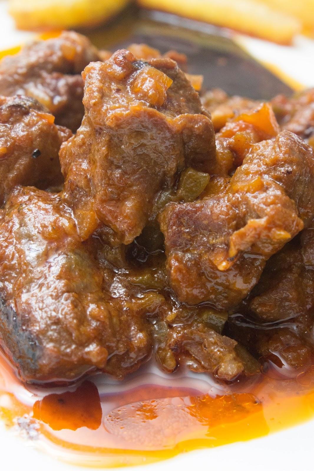 El ba l de las delicias carne al toro o ragut de ternera for Cocinar con olla express
