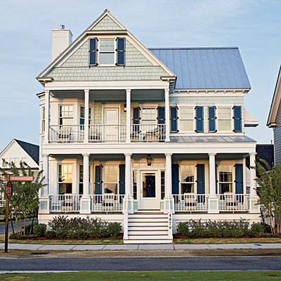 Design dump coastal living ultimate beach house for Coastal living exterior paint colors