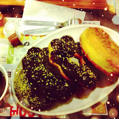 cake, chocolate, japan, doughnut