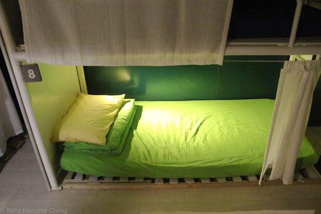 Bed in Yesinn Hostel, Causeway Bay