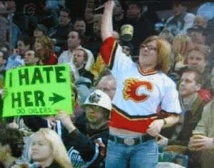 Those crazy fans !!