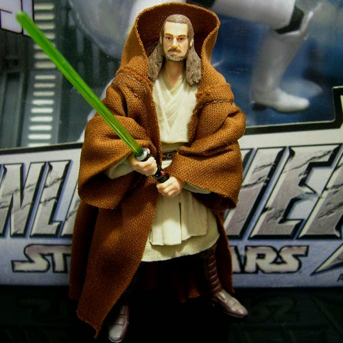 STAR WARS Saga Commemorative QUI-GON JINN jedi ep1