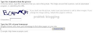 menambah url blog ke bing