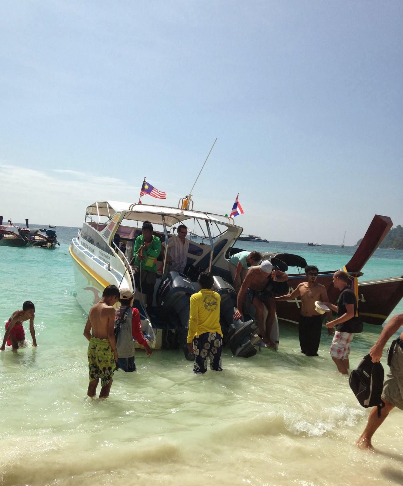 speedboat langkawi koh lipe