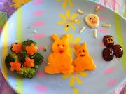 Conejos de Pascua conejos