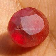 Batu Permata Orange Sapphire - SP876