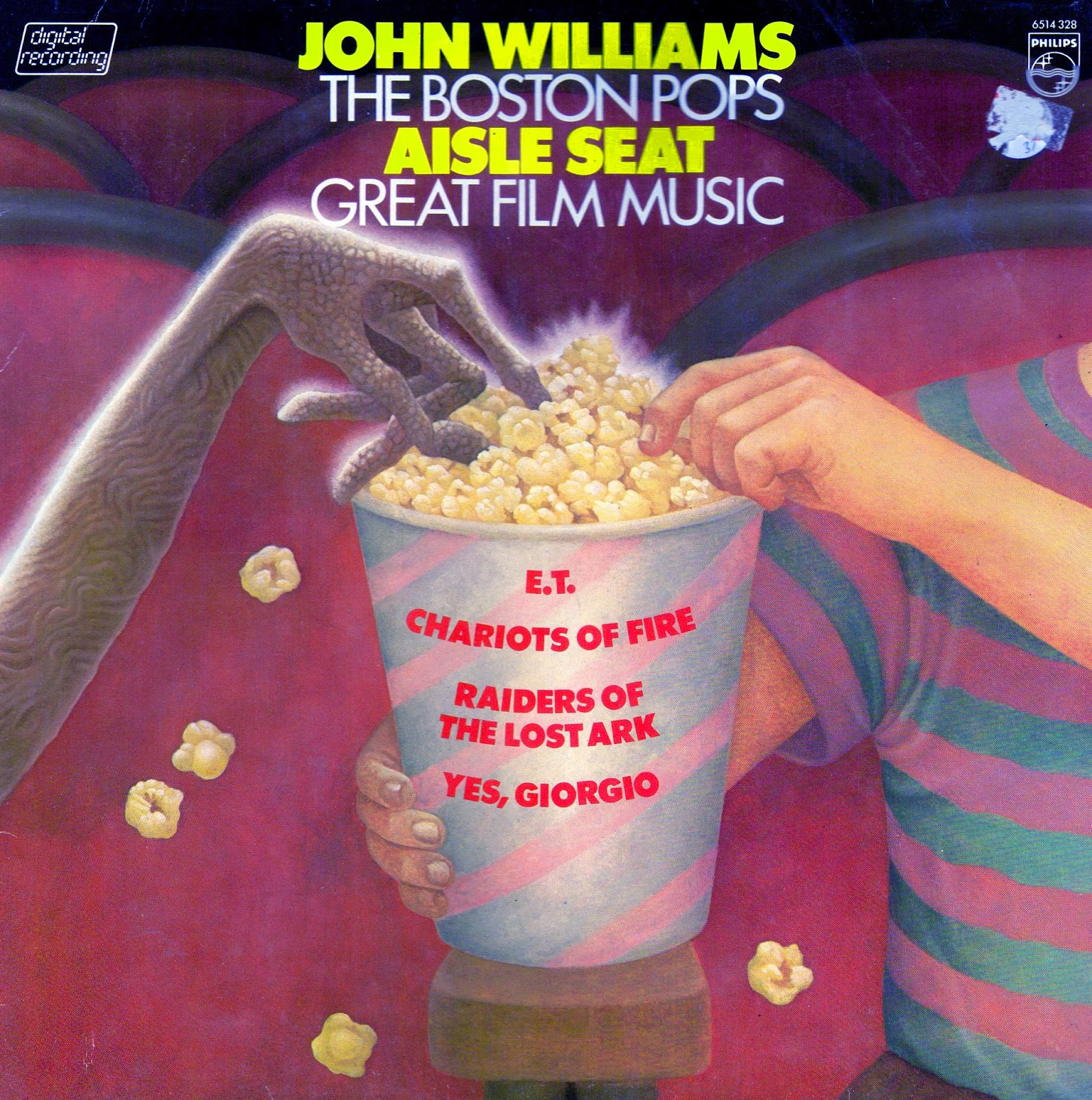 Vinyl Shipwreck John Williams Aisle Seat 1982
