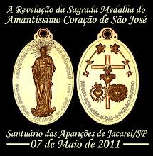 A Sagrada Medalha do Amantíssimo Coração de São José!