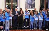 """Cristina recibió a los atletas olímpicos: """"Siempre van a tener el apoyo del Estado"""""""