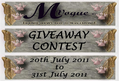 MVogue's Exquisite Giveaway