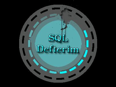 SQL Defterim