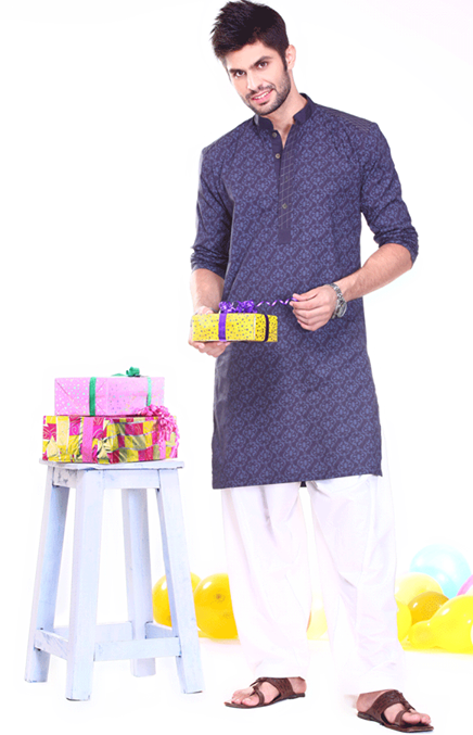 Ladies-Gents-Kids Kurta Designs 2014