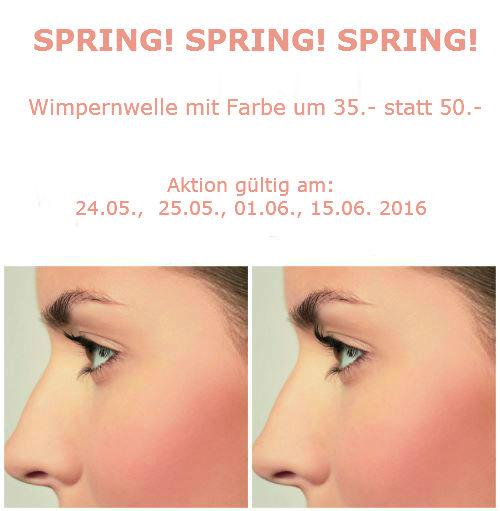 Frühlingsaktion!