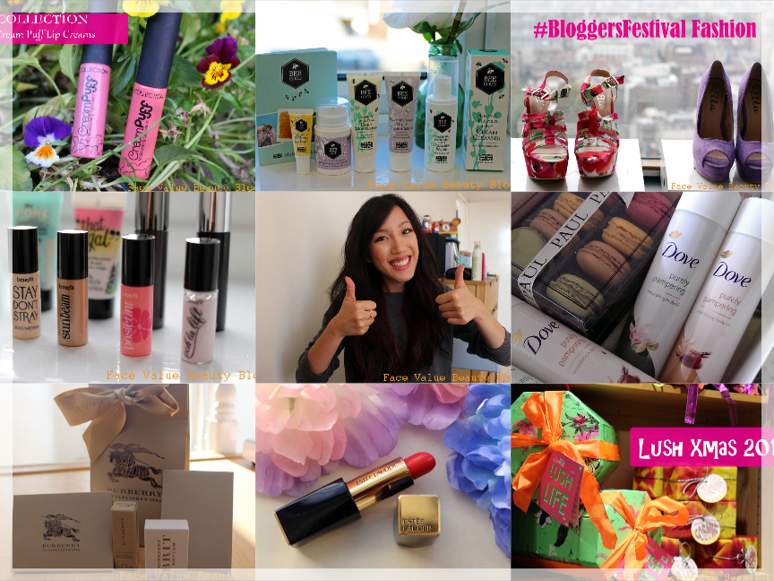 2014: A Face Value Beauty Blog Summary - The Best Bits!