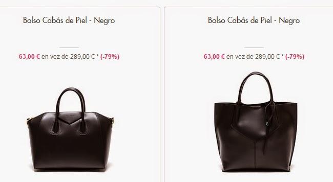 Bolsos cabás de piel negros
