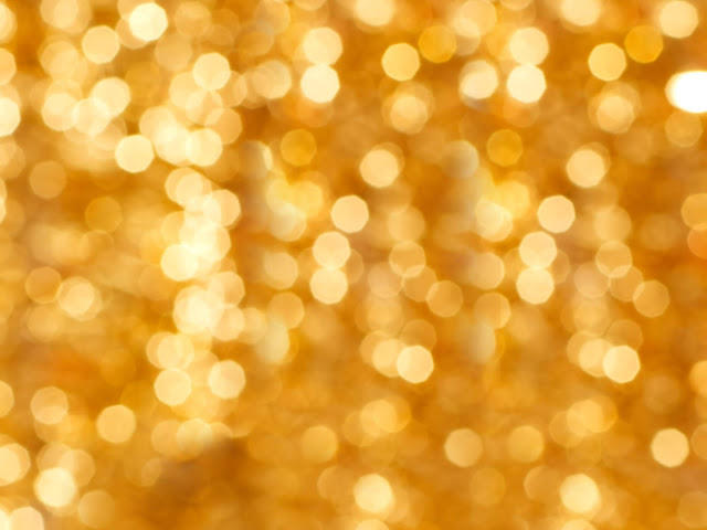 Gold Lights Backgrounds Gold christmas background