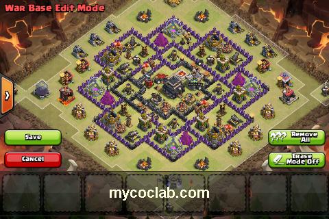 Th9 Clan War Base