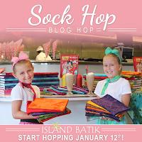 Island Batik Sock Hop