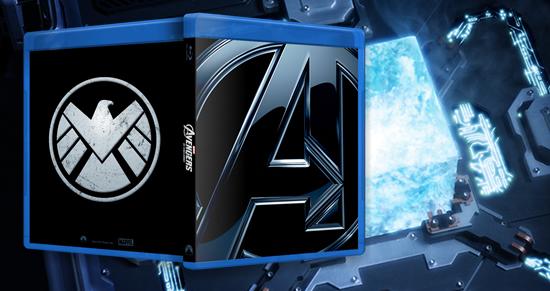 Os Vingadores - Capa para blu-ray