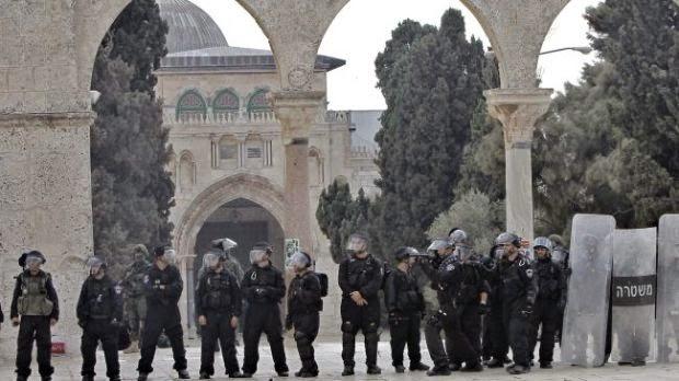 Palestina Kecam Penutupan Al-Aqsha