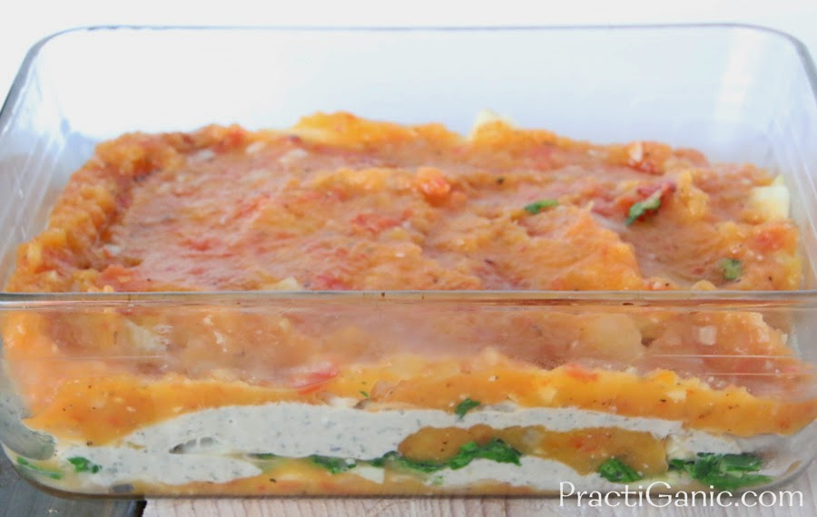 Acorn Squash & Celery Root Lasagna