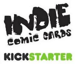 INDIE COMIC BOOK CARDS KICKSTARTER