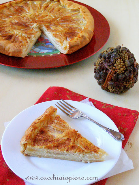 torta de pera e ricota