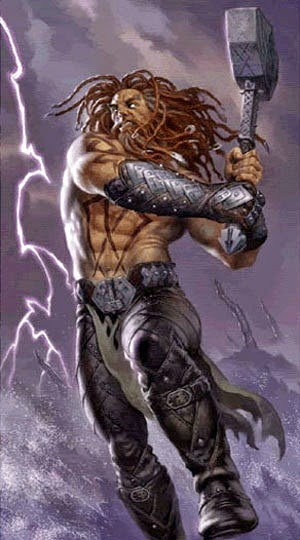 Image Gallery Magni Norse God
