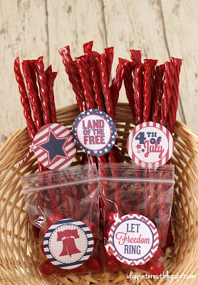 Patriotic Crafts Printables from I Dig Pinterest | Featured on Making the World Cuter