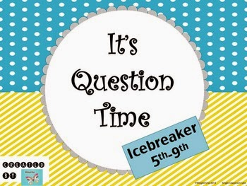 http://www.teacherspayteachers.com/Product/Icebreaker-Its-Question-Time-5th-9th-519211