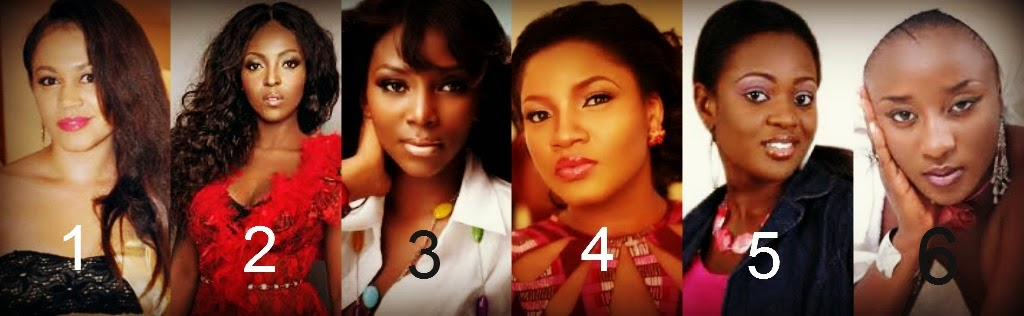 Which Nigeria/Ghana Actress has the most beautiful face?