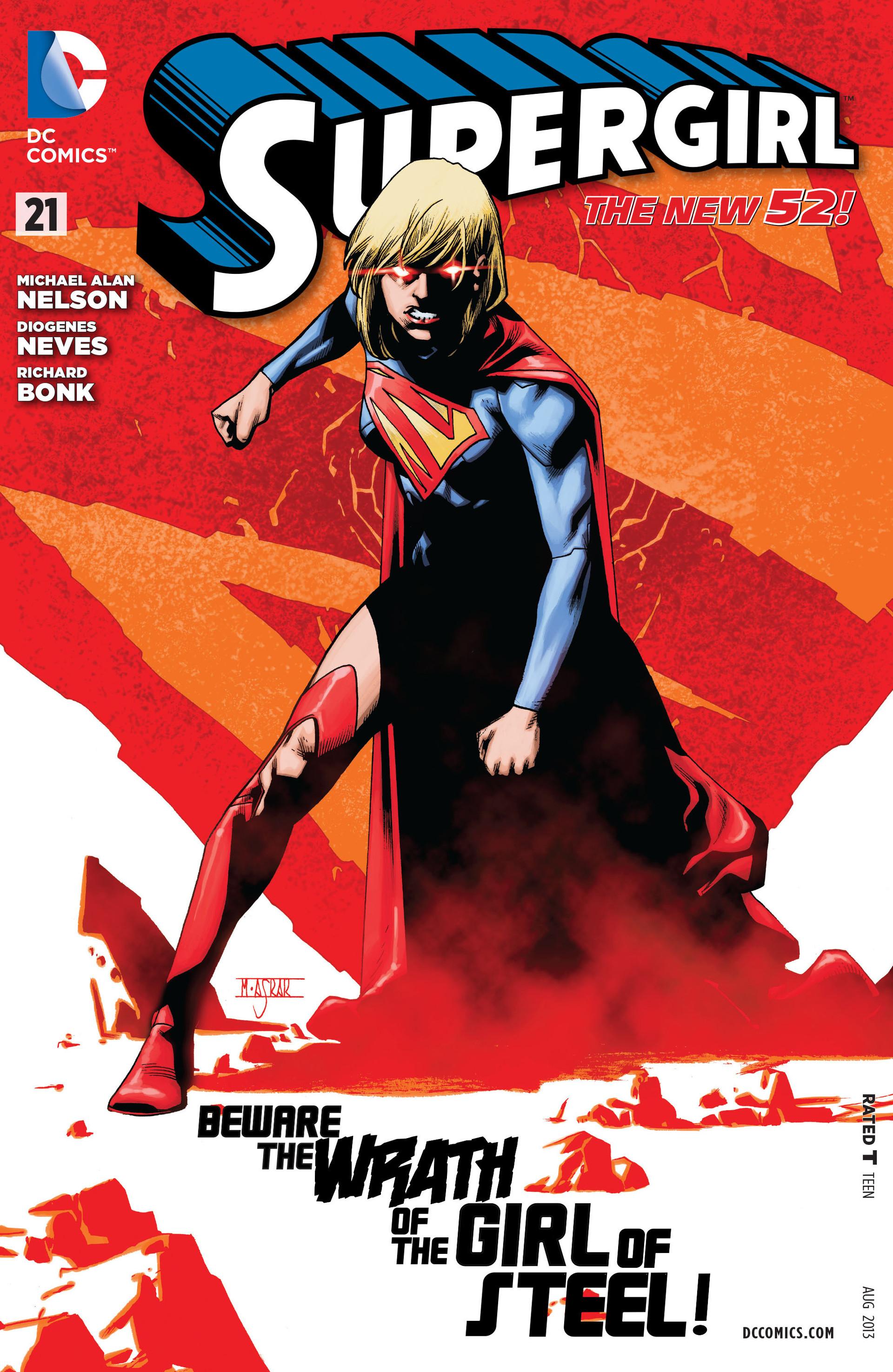 Supergirl (2011) Issue #21 #23 - English 1