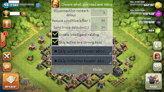 Tutorial Cara BOT Clash of Clans AutoAll for Android
