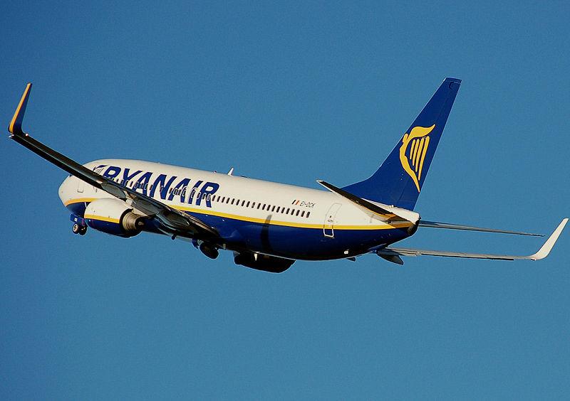 Voli low cost dall'aeroporto di Foggia. La Ryanair è interessata dal 2002